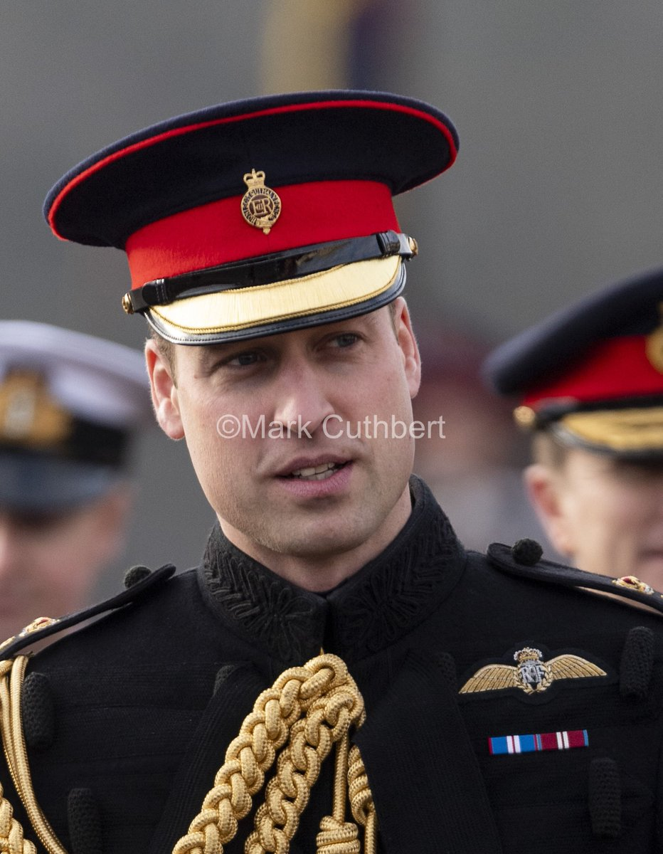 Prince William, Duke of Cambridge represents Her Majesty The Queen as the Reviewing Officer at The Sovereign's Parade at Royal Military Academy Sandhurst. #royal #princewilliam #sandhurst