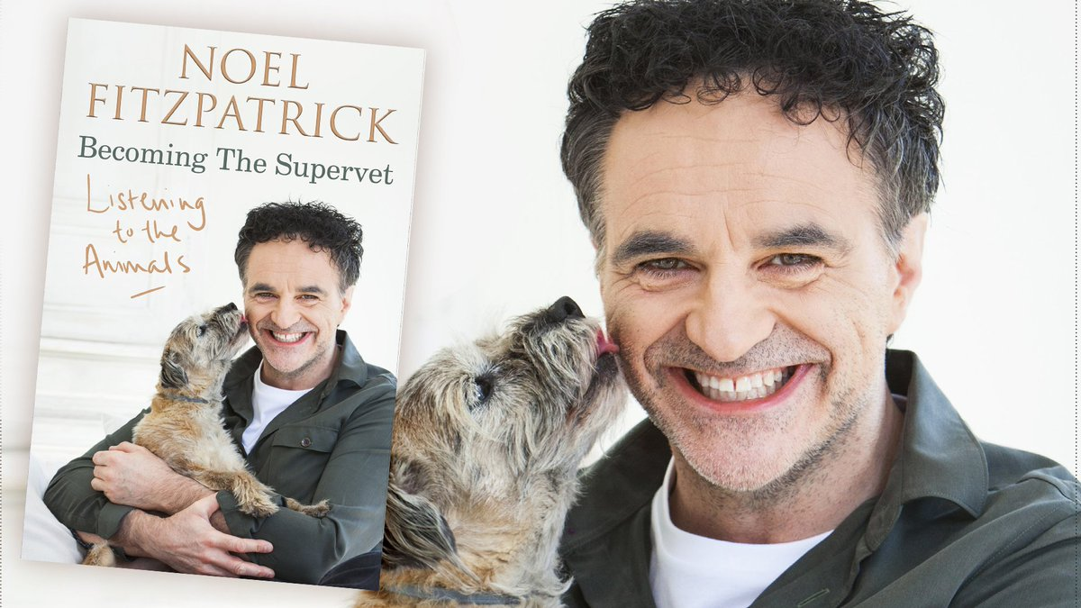 Keep calm, Supervet fans, but we have LIMITED SIGNED COPIES of @ProfNoelFitzs bestselling memoir. Drop everything (unless youre holding a chihuahua, of course) and step this way: waterstones.com/book/listening…