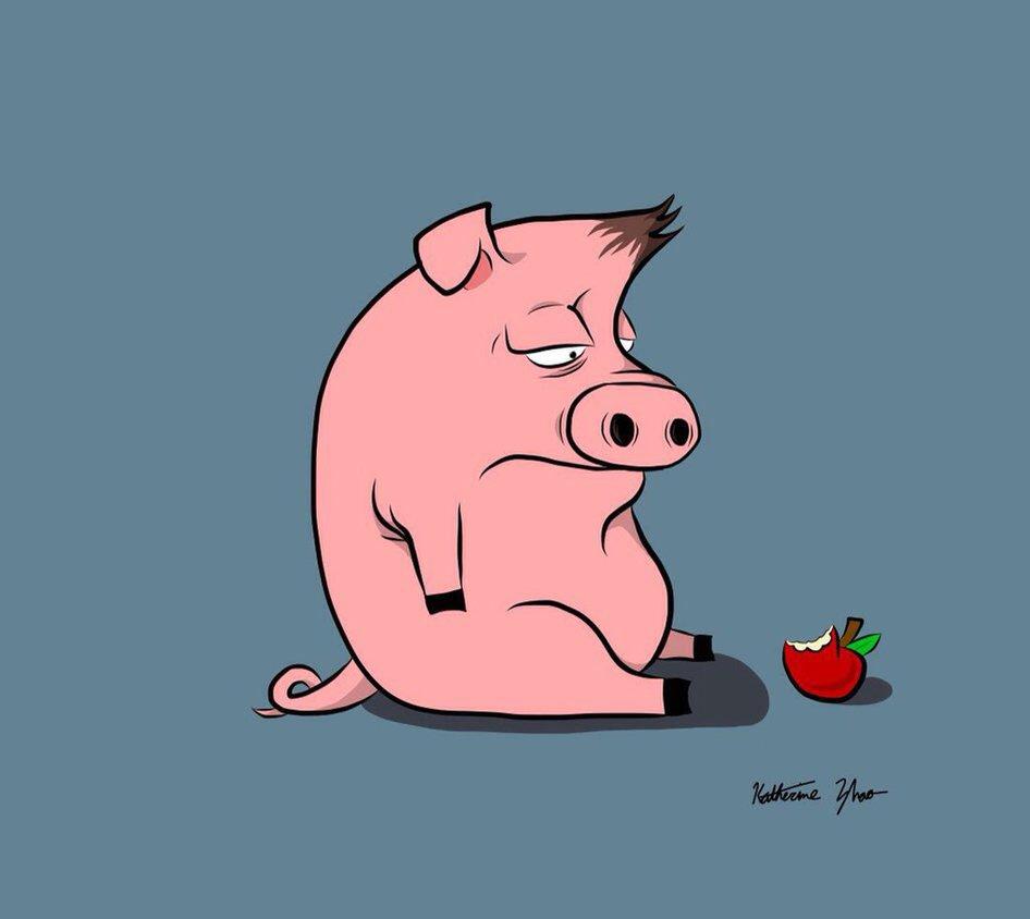 многие картинки плачущей свинки отметить, что костюм