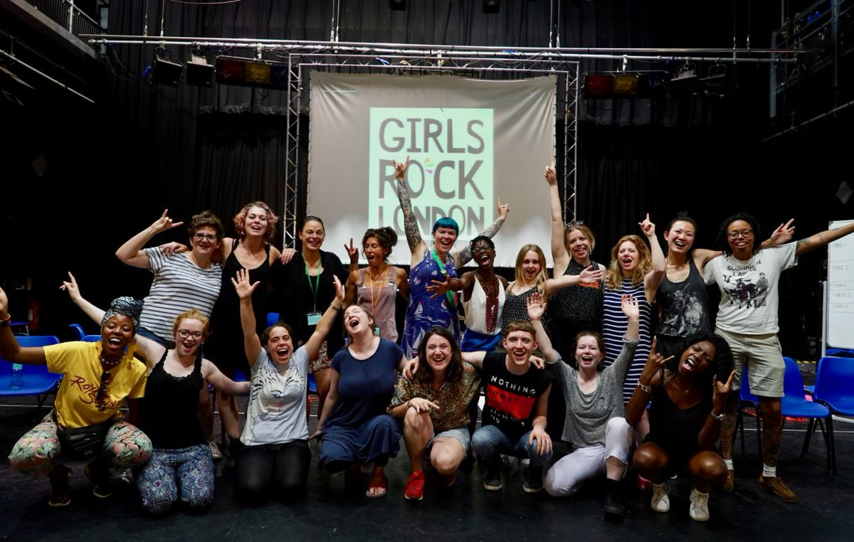 Heard about @girlsrocklondon? We meet the founders of  the initiative, backed by Dream Wife and Wolf Alice, affecting real change in the world of music. https://t.co/OfUeMA0HDX