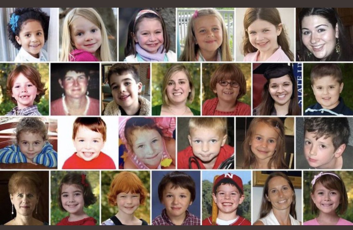 This morning, before you skip that goodbye kiss to your kids, please consider all the missed kisses for the #sandyhook families. Time is precious. On this day 6yrs ago, the lives of 20 beautiful children and six brave adults were taken. Please honor & remember them.