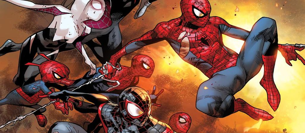 Spider-Heroes of the Multiverse unite! Read the Spider-Verse comic event in #MarvelUnlimited today: https://t.co/Et9GnVsOk0
