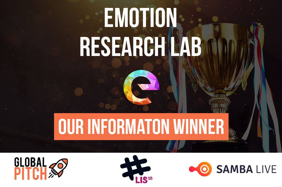 "@lab_emotion participated at @GlobalPitch 2 Finals, the biggest online pitching competition worldwide and we became the WINNERS in the ""information Category"".  Thanks @GlobalPitch!! We're glad to join you in Lisbon  #emotions #AI #technology https://t.co/NorOUZ1HhA"