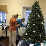 Image for the Tweet beginning: Residents had fun decorating the