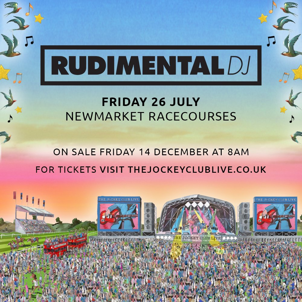 We will see you all at #newmarketracecourse in July 2019 for some VIBES 🐎 Tickets on sale NOW https://t.co/p3alUlG8lC