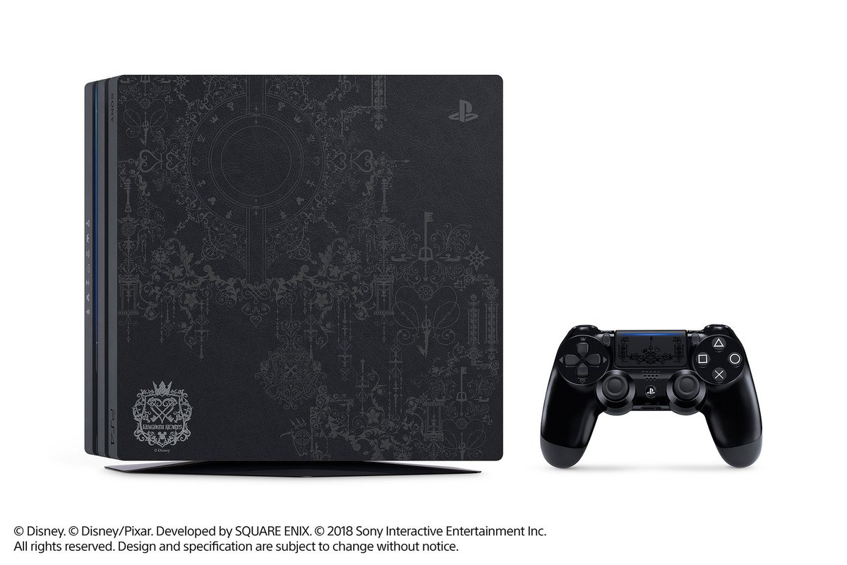 Defeat the darkness in style with the new Limited Edition Kingdom Hearts III PS4 Pro bundle, launching January 29. First details: https://t.co/11magMBPjC