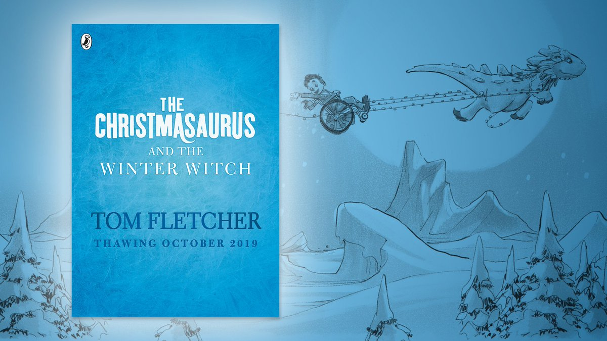 Fancy a peek into the future at Christmas 2019? The sequel @TomFletchers The Christmasaurus is on the way, once again following William on a magical adventure, this time in the company of the mysterious Winter Witch Publishing 3 October. Pre-order here: waterstones.com/book/the-chris…