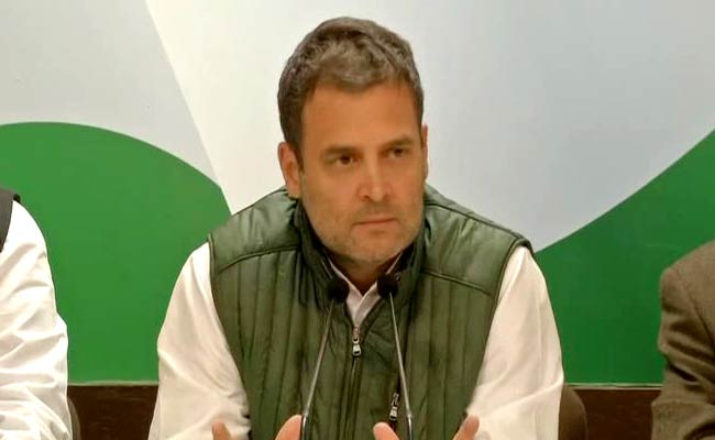 'We are doing press conferences regularly... It's strange that the Prime Minister does not want to interact with media on most burning issues, ' says Congress President Rahul Gandhi  Watch LIVE now ohttps://t.co/hMlRpgrUU6n  and NDTV 24 #RafaleDealx7
