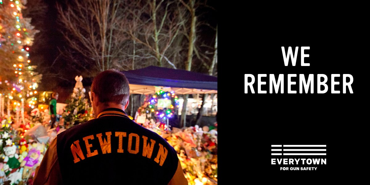 Six years ago today, 20 children and six educators had their lives taken by a horrific act of gun violence at Sandy Hook School in Newtown, CT. The victims, survivors, and Newtown community remain forever in our hearts as we work together for a future free from gun violence.