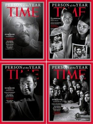 La revista #TIME reconoce a los luchadores de la 'guerra por la verdad' en 2018. ¿Quiénes son estos rostros? Los repasamos: https://t.co/R5eksOPTHR #PersonOfTheYear #TIMEPOYPOY