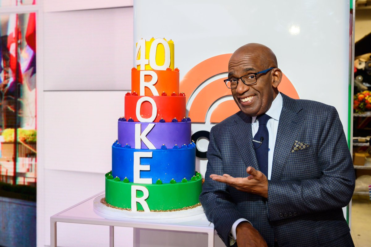 40 years of @alroker at NBC ❤️🧡💛💚💙💜 #ALiversary https://t.co/PVkNohLI6c