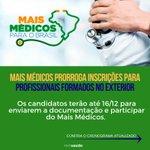#MaisMédicos Twitter Photo