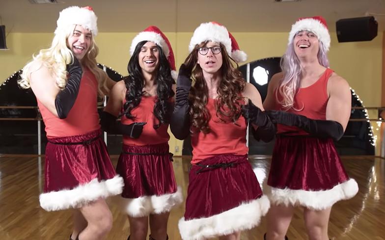 You need to see @tyleroakley recreate Jingle Bell Rock from Mean Girls.  https://t.co/UkcoriiMG3