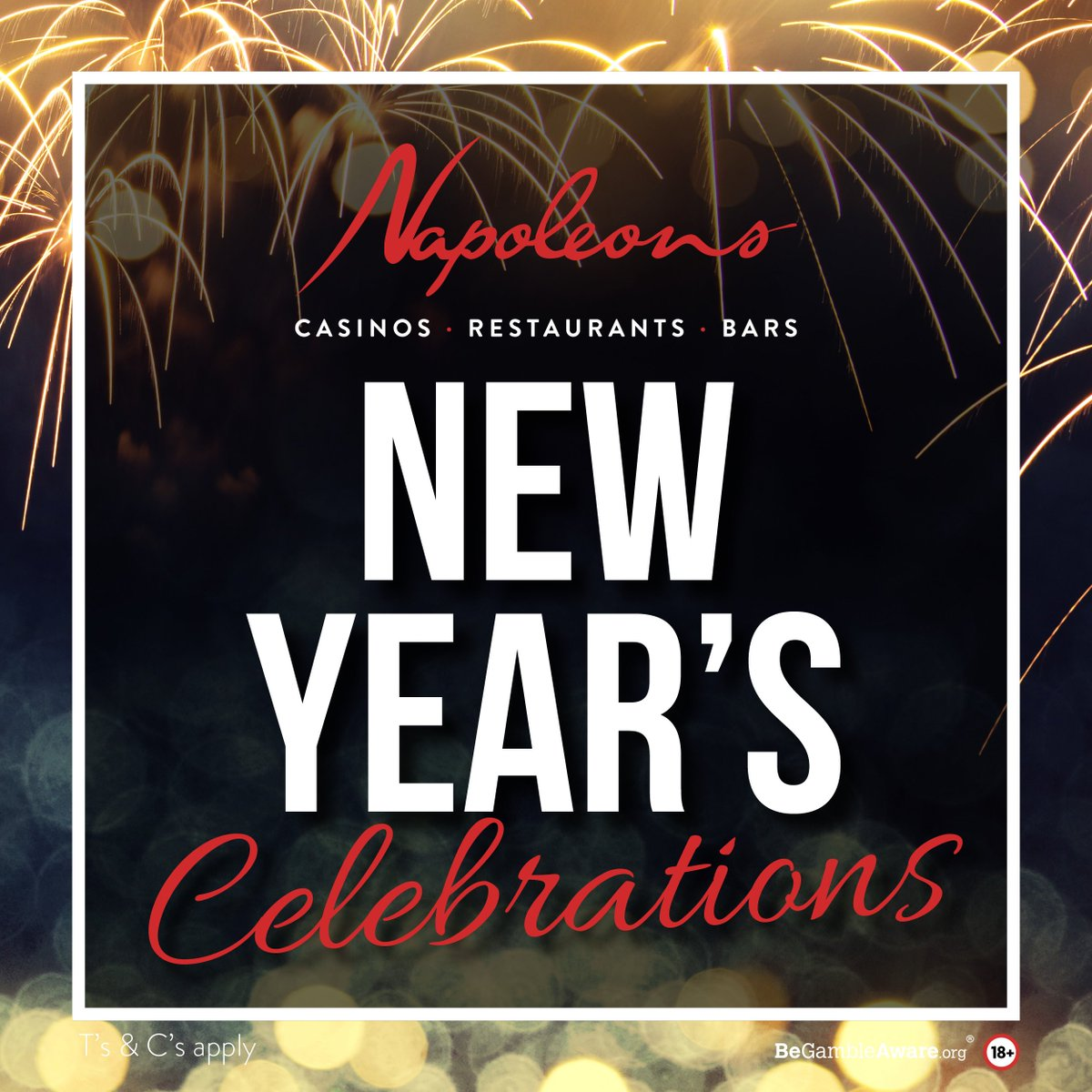 🎊 New Years Eve with a difference! 🎊 Its all about the glitz and glamour at Napoleons this year! Our branches will be hosting the party of the year and guess what, theyll even book your taxi home! #Hull #Leeds #Bradford #SheffieldIsSuper #Yorkshireis