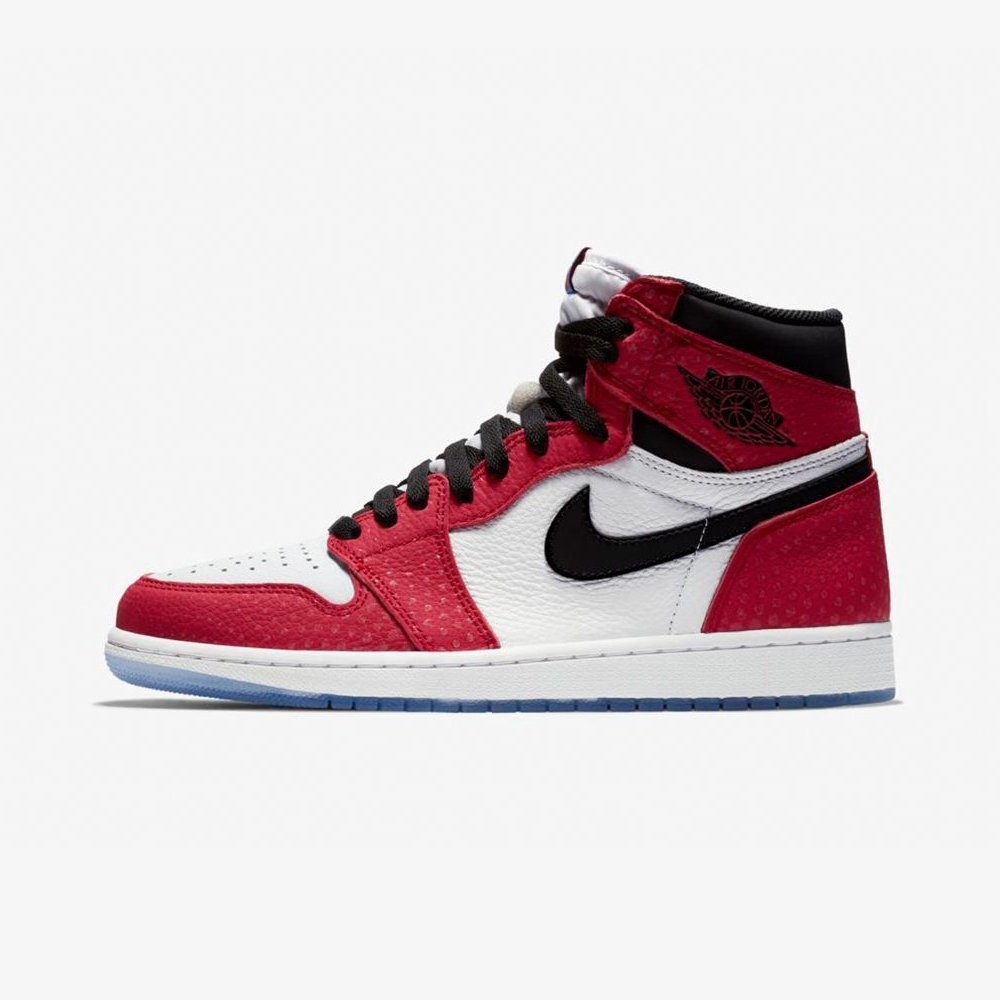 Inspired by Spider-Man, the Air Jordan 1 'Origin Story' is dropping in an hour 🕷  https://t.co/iigmiZ0aBt