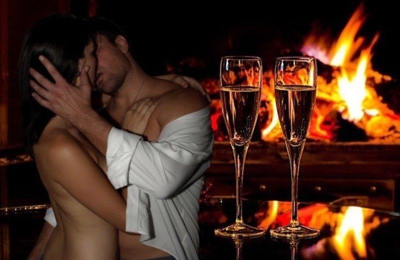 Романтический ужин секс с парнем, студентка не ожидала такой порнухи фото