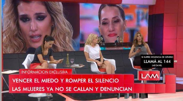 LA EMOCIÓN DE MICA VICICONTE Se la notó muy conmovida anoche en el #Bailando2018 pero prefirió no hablar. #LAM