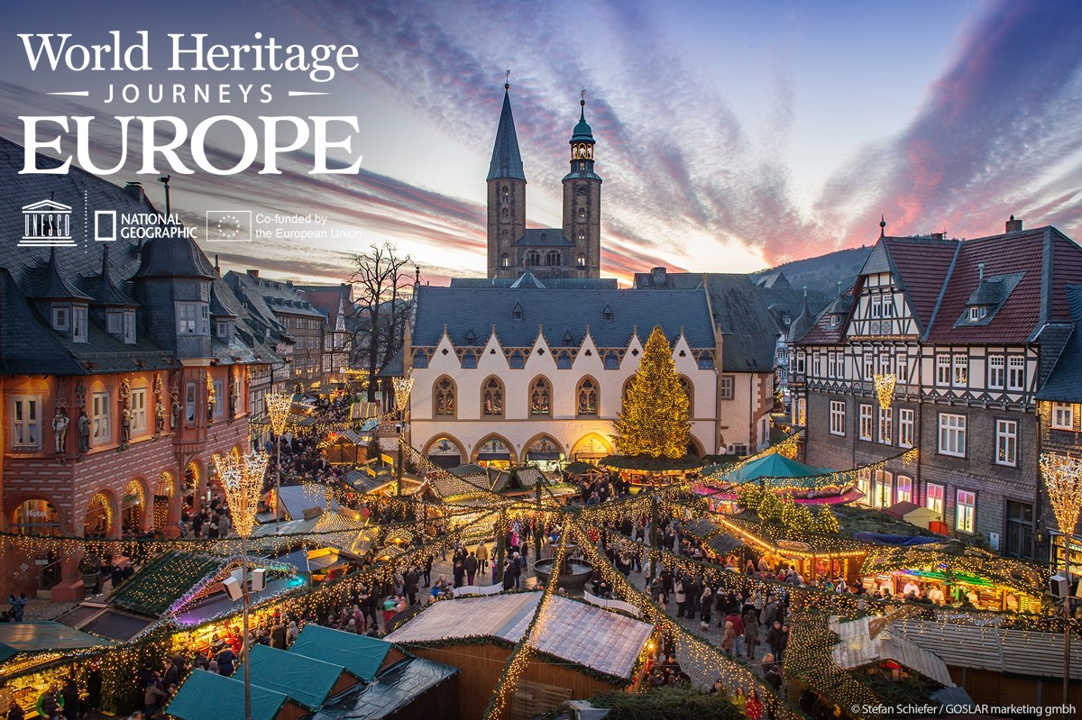 """#DYK that Goslar, Germany, was once known as the """"Rome of the North""""?  The former Imperial town has 1000 years of history.  Discover #UndergroundEurope with @UNESCO &  thr@NatGeoough their World Heritage Journeys of the EU.  https://t.co/eor1SXebE7"""