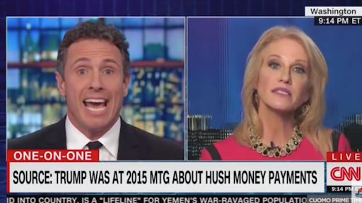 WATCH: Chris Cuomo to Kellyanne Conway: I'll call you a liar 'if I have to' https://t.co/2eicwdySVm
