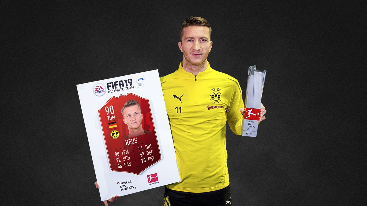 Who else? @woodyinho gets his second #BundesligaPOTM 🏆 #FIFA19 #FUT @Bundesliga_EN @BVB @BlackYellow