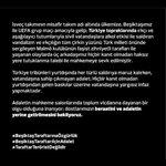 #BeşiktaşTaraftarınaÖzgürlük Twitter Photo