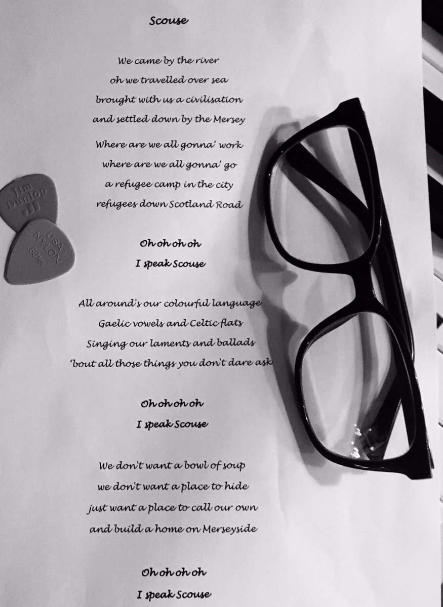 'Scouse', the #lyrics, for #NewMusicFriday   Video   https:// youtu.be/t9n9M7rM400  &nbsp;    Tickets   https://www. liverpoolphil.com/whats-on/only- child &nbsp; … <br>http://pic.twitter.com/c1fbYKnPfk