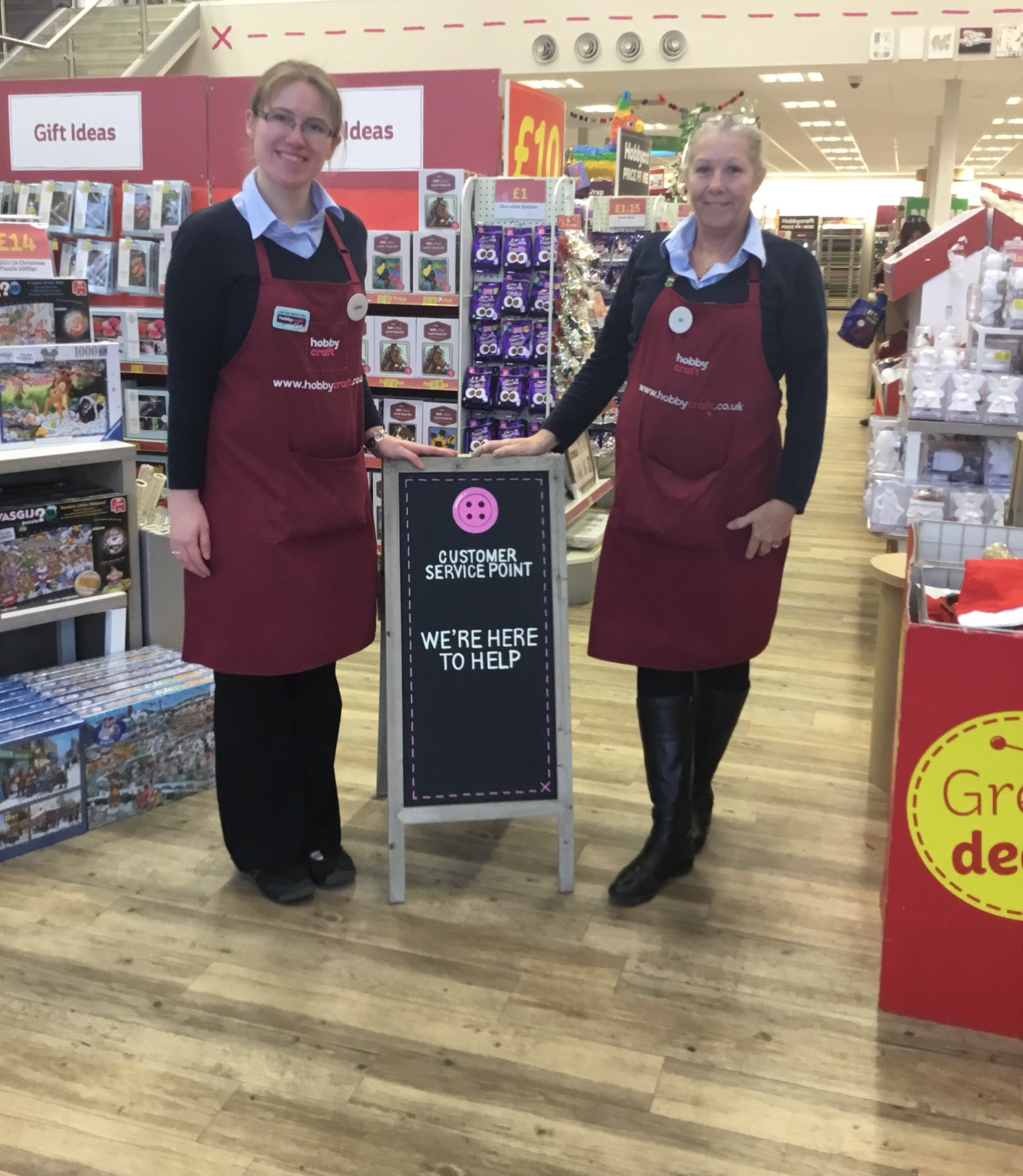 Hobbycraft Cambridge On Twitter Ali And Lillian Are Always Here To