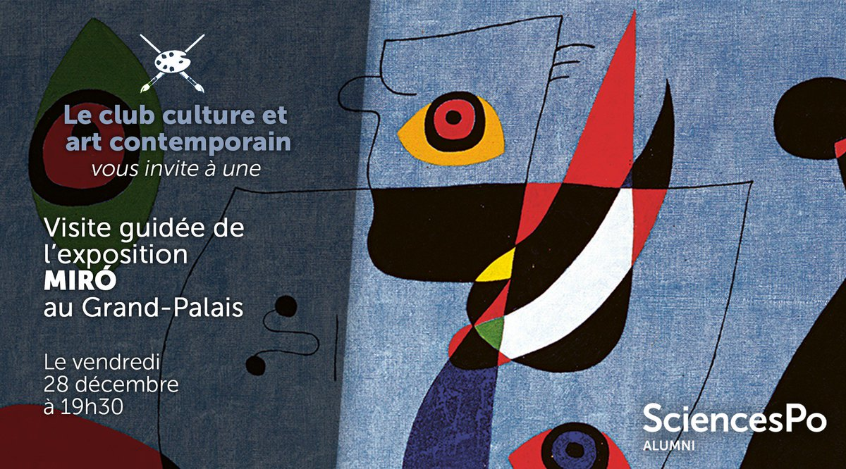 Inscrivez Vous Ici Bitly Visite Guidee Miro Pictwitter HnWout6qnB