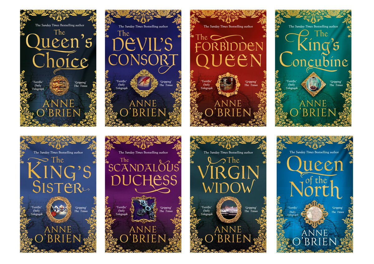 Anne O Brien On Twitter A Brilliant Book Deal To Give You