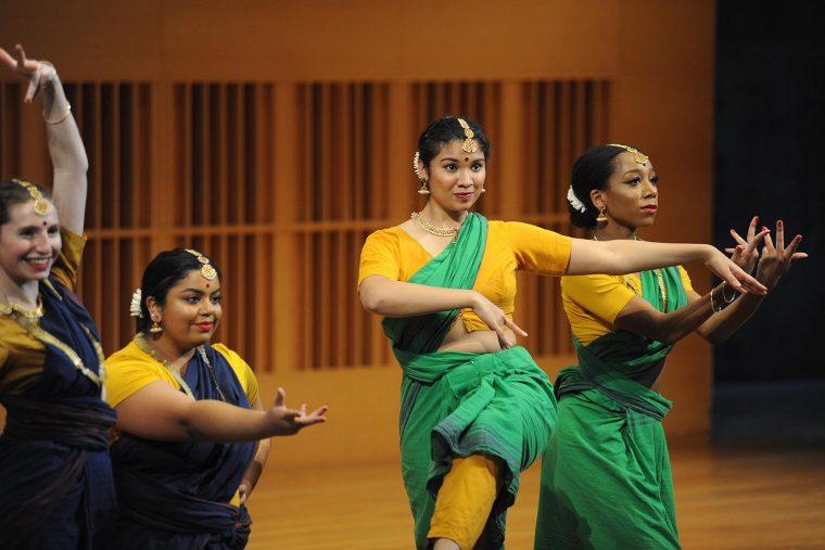 test Twitter Media - Students enrolled in Intro to Dance, Bharata Natyam I, and Jazz Technique performed during the 45th annual Worlds of Dance Concert in Crowell Concert Hall earlier this month: https://t.co/NefbLODjpp https://t.co/eAuJoo0akQ