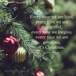 Image for the Tweet beginning: Christmas isn't about the gifts-