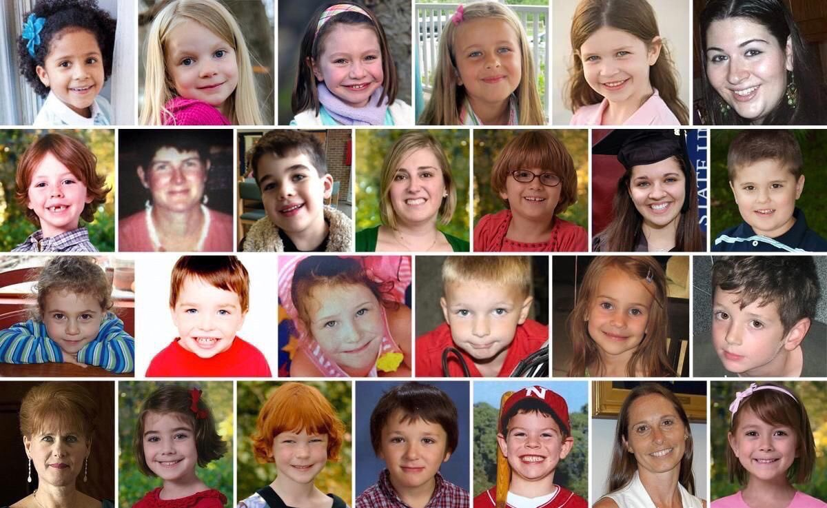 Today will be 6 years since the shooting at Sandy Hook.  It will also be 10 months since the shooting at Stoneman Douglas High School.  We share their pain, we share their grief.  They should be here today. But they're not.  So today, we honor them. Honor them with action.