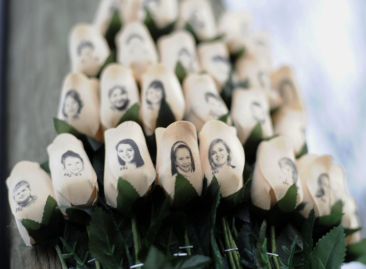 20 children and 6 adults were murdered at Sandy Hook Elementary in Newtown, Connecticut six years ago today.