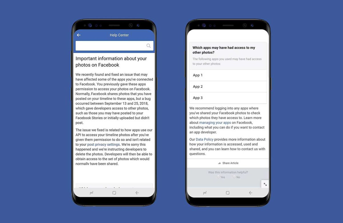Facebook didn't say when it discovered the bug, but in response to TechCrunch's inquiry admitted it was on Sept 25th. Failure to disclose the issue within 72 hours could see it hit with GDPR fines. Here's the warning it's sending impacted users.