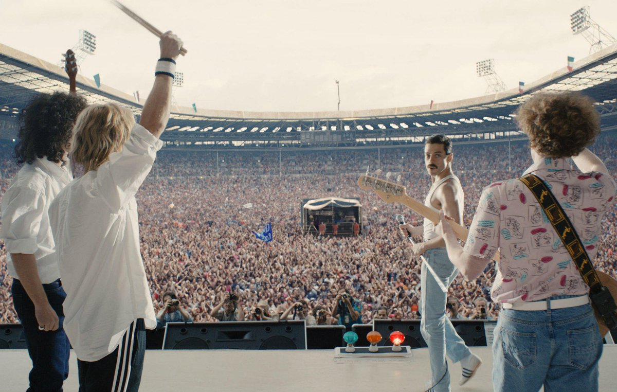 'Bohemian Rhapsody' is now the highest-grossing music biopic of all time https://t.co/pqyDOvEes8