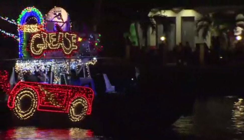 We're just one day away from the greatest show on H2O — the Winterfest Boat Parade — and preparations are underway. ://wsvn.com/news/local/lights-and-dazzling-displays-ready-to-take-center-stage-at-the-winterfest-boat-parade/