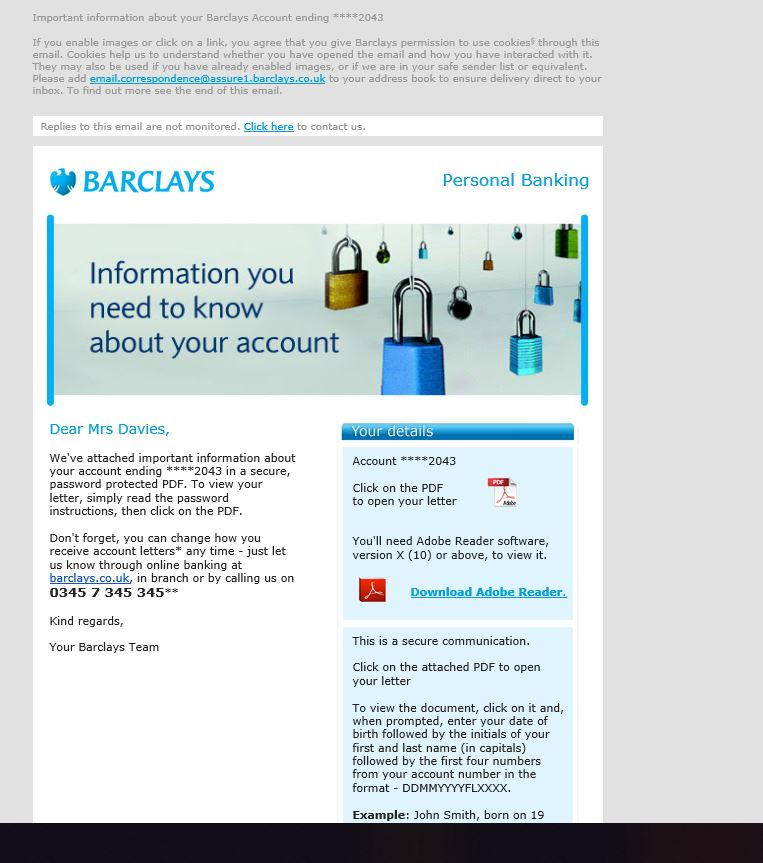 How to open a bank account online barclays