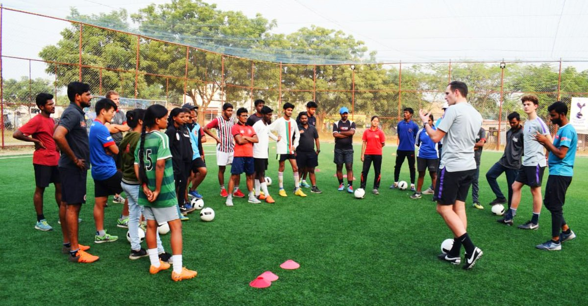 test Twitter Media - Community coaches training program started!!   We, in partnership with @SpursOfficial, strive to bring about change in communities by training #coaches for the #development of #grassroots #football!! https://t.co/RasKJGJIWp