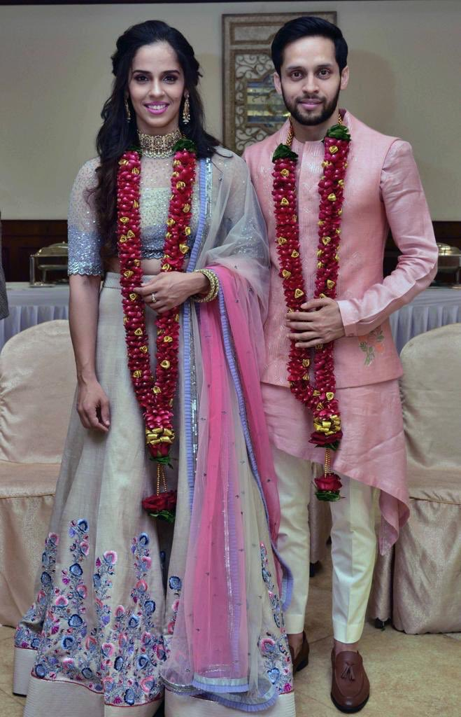 Heartiest congratulations to @NSaina &  on @parupalliktheir wedding. Have a happy married life! Wish you all the very best. May God bless you with the best partnership of your life.