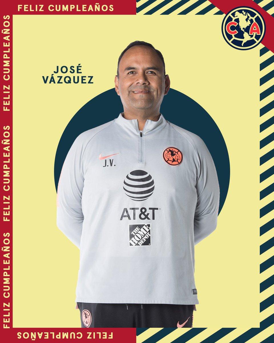 Club América's photo on José Vázquez
