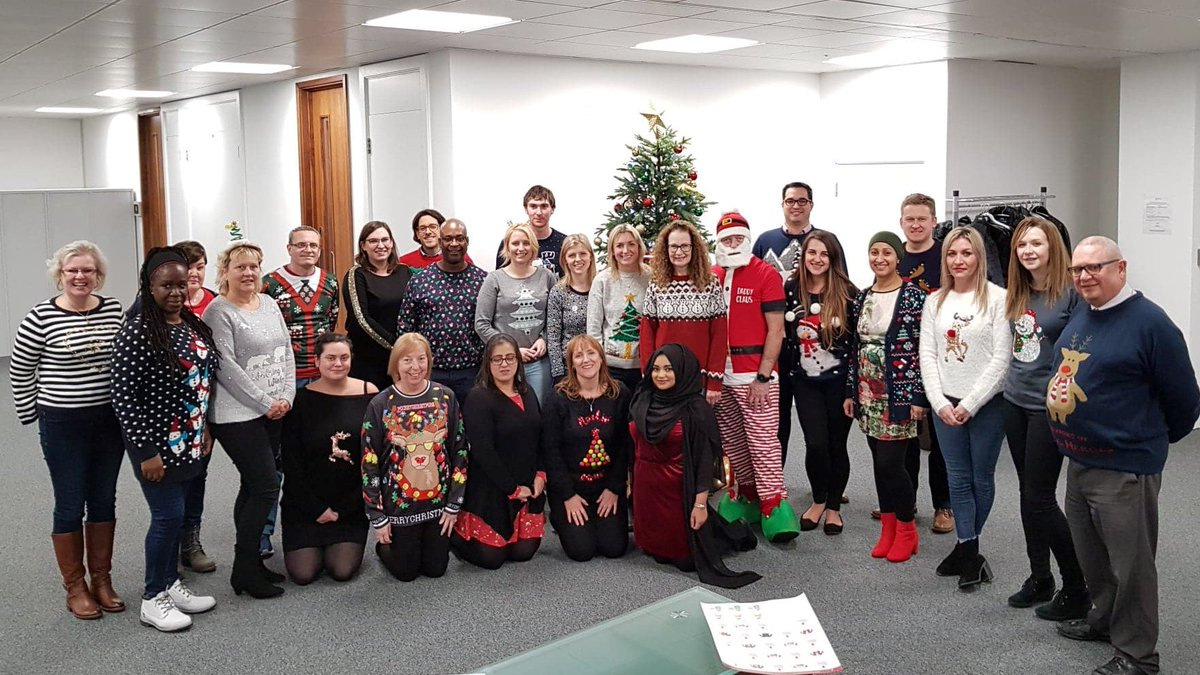 Getting festive at the Chargemaster head office for #ChristmasJumperDay!  #SaveTheChildren #Christmas2018
