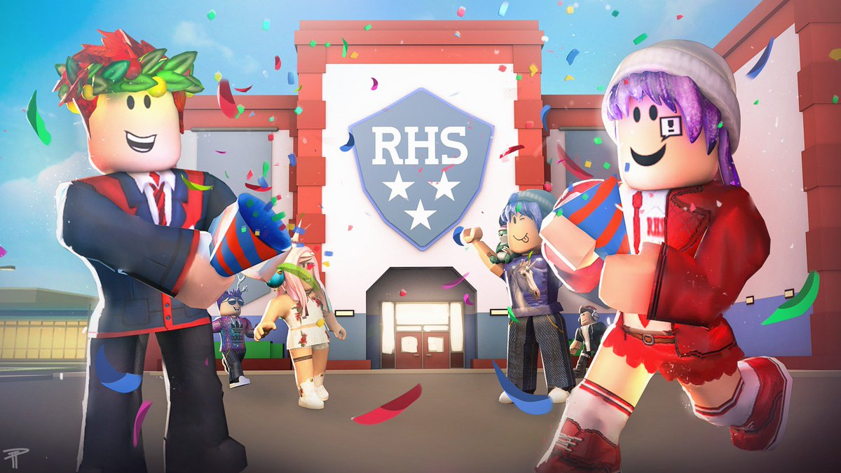 Brian Wilson On Twitter Roblox High School 2 Is Now Free To