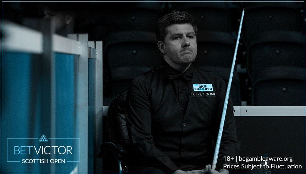Shock on the cards?  Daniel Wells, who got a bye in Round 1 when Ronnie O'Sullivan pulled out, is 3-1 up over Ryan Day and 2 frames from the #ScottishOpen Semi-Final!  Ryan Day is a 15/8 shot to turn this around.