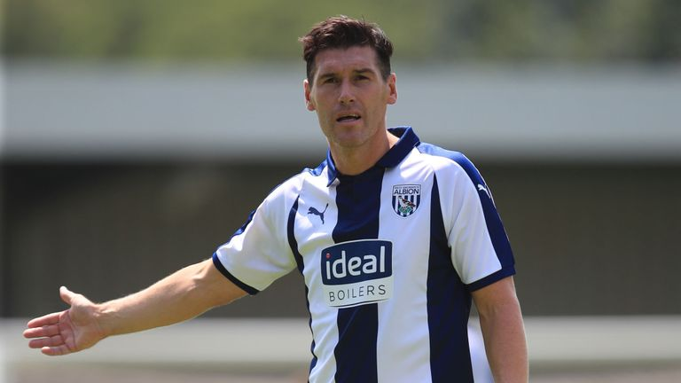 Gareth Barry has scored his first goal for West Brom since December 2017 vs. Man United.  He puts the Baggies back on level terms with a sumptuous finish.