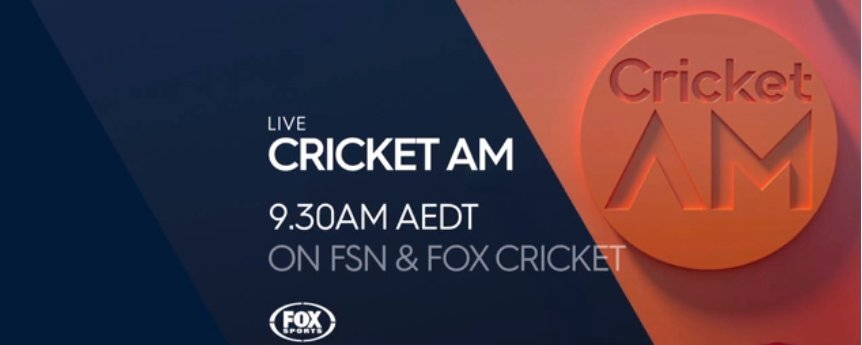 Don't forget to join us for Cricket AM today - we'll wrap up an action packed opening day of the second test and look ahead to day 2. #AUSvsIND