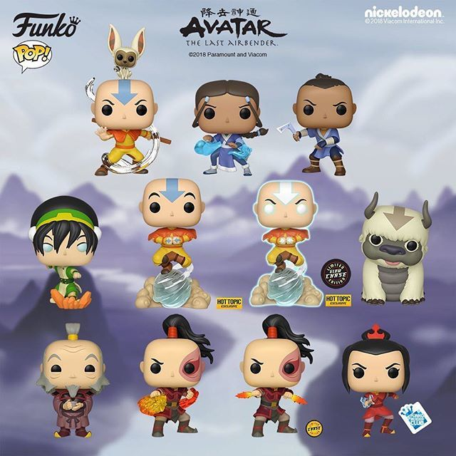 Avatar The Last Airbender Appa 6 inch Flocked Exclusive Vinyl Figure Funko Pop