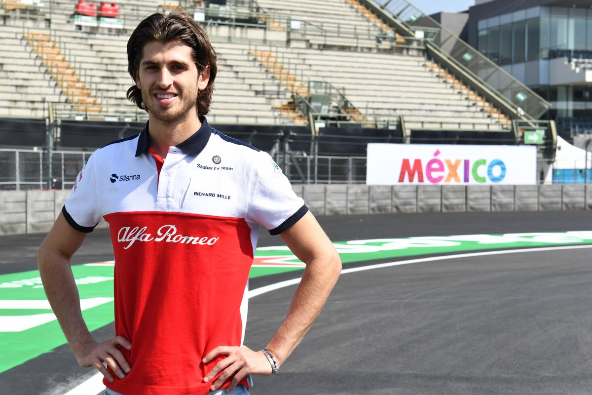 Happy Birthday to @SauberF1Teams very own @Anto_Giovinazzi 🎂 He turns 25 today! See you on the grid soon 😉