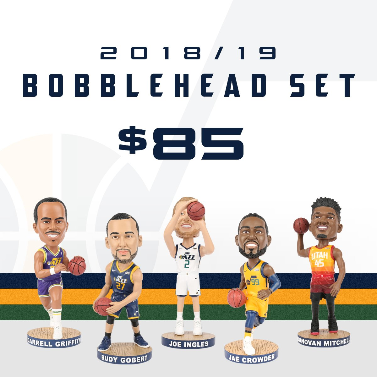 These limited-edition, five-piece bobblehead sets are going to be worth a pretty penny in the future 😍  Snag them while you can!!  >> https://bit.ly/2EtNUfj