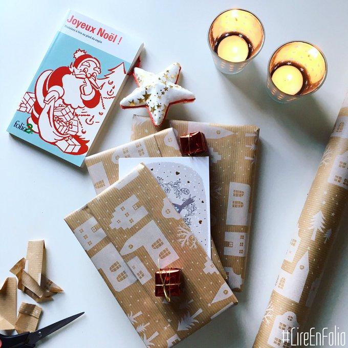 #VendrediLecture une semaine avant les vacances : qu'avez-vous prévu de lire à Noël ? Photo