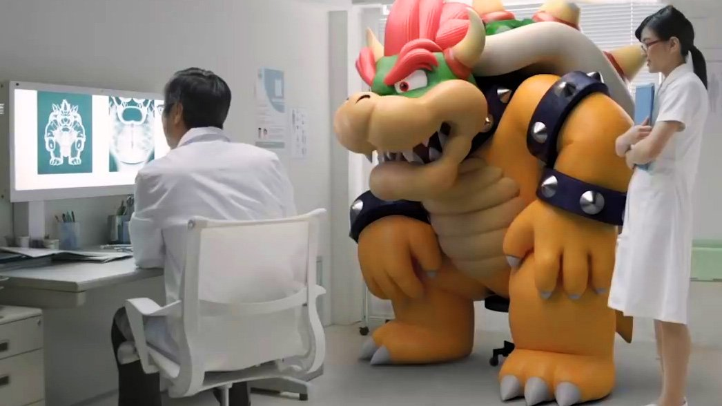not sure what to think of this new Amiibo commercial... VERY weird message youtube.com/watch?v=NfJD9f…
